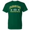 Image for CSU Rams Unisex Track & Field T-shirt - Size 2XL