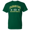 Cover Image for CSU Rams Unisex Basketball T-shirt - Size 2XL