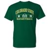 Image for CSU Rams Unisex Basketball T-shirt - Size 2XL