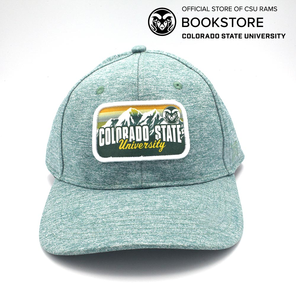 b586e72e8 AHEAD CSU Rams Forest Heather Patch Cap