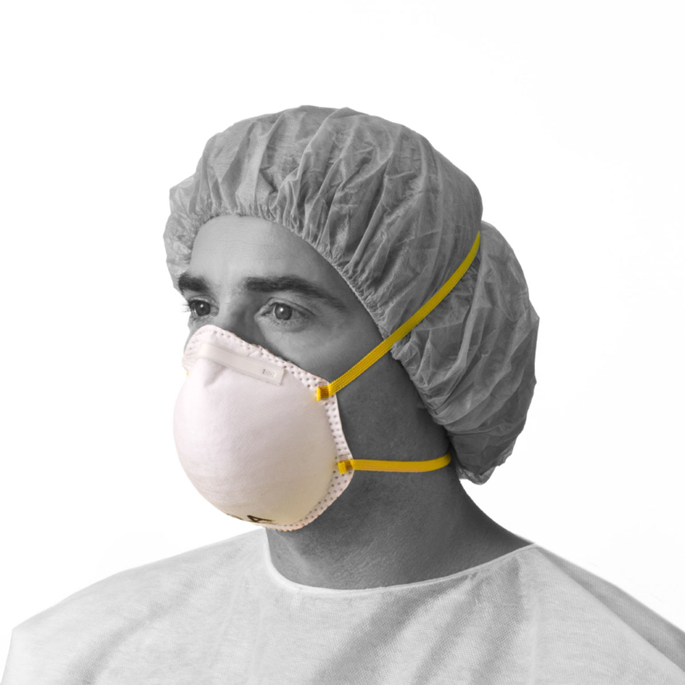 Image For N95 Cone-Style Particulate Respirator Masks (2 pack)