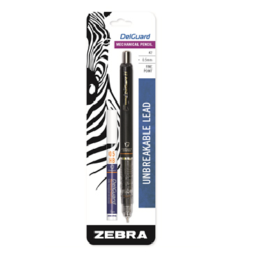 Cover Image For Black Zebra DelGuard Mechanical Pencil