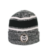 Image for Stripped Colorado State University Beanie by Zephyr
