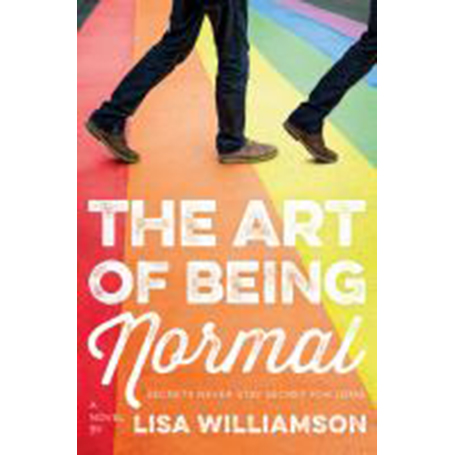 Cover Image For Art of Being Normal by Lisa Williamson