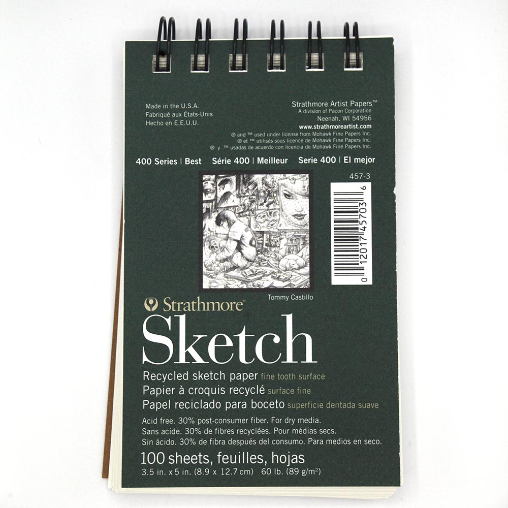 "Image For 3.5""x5"" Strathmore Sketch Journal"