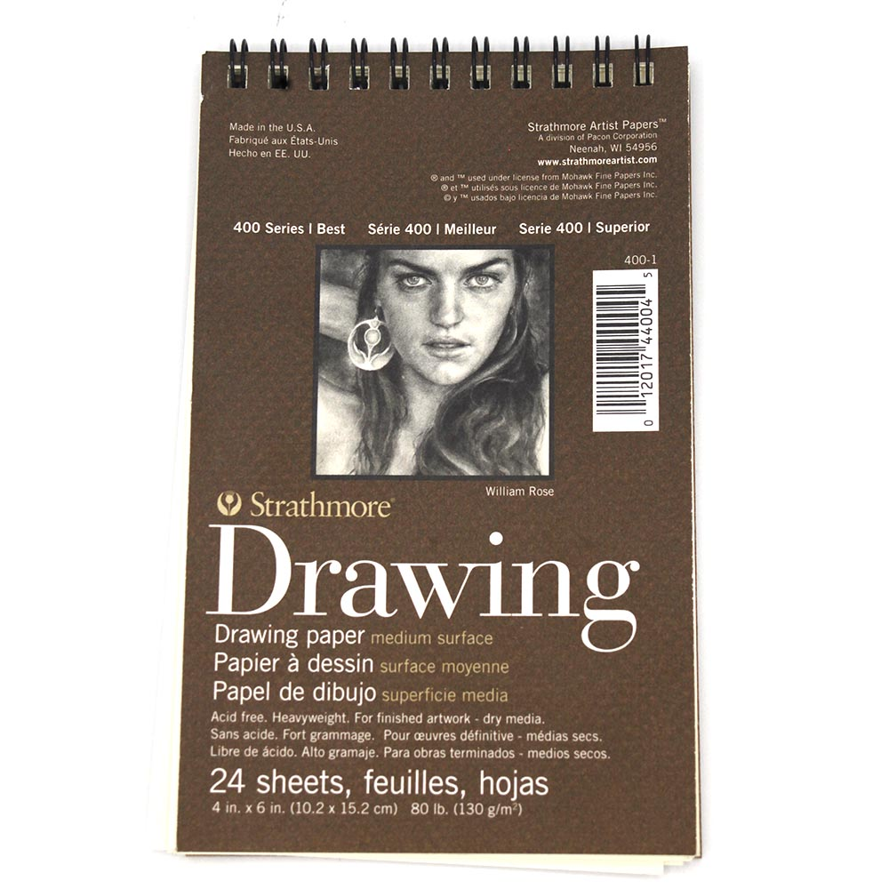 "Cover Image For Strathmore 4""x6"" Drawing Pad"