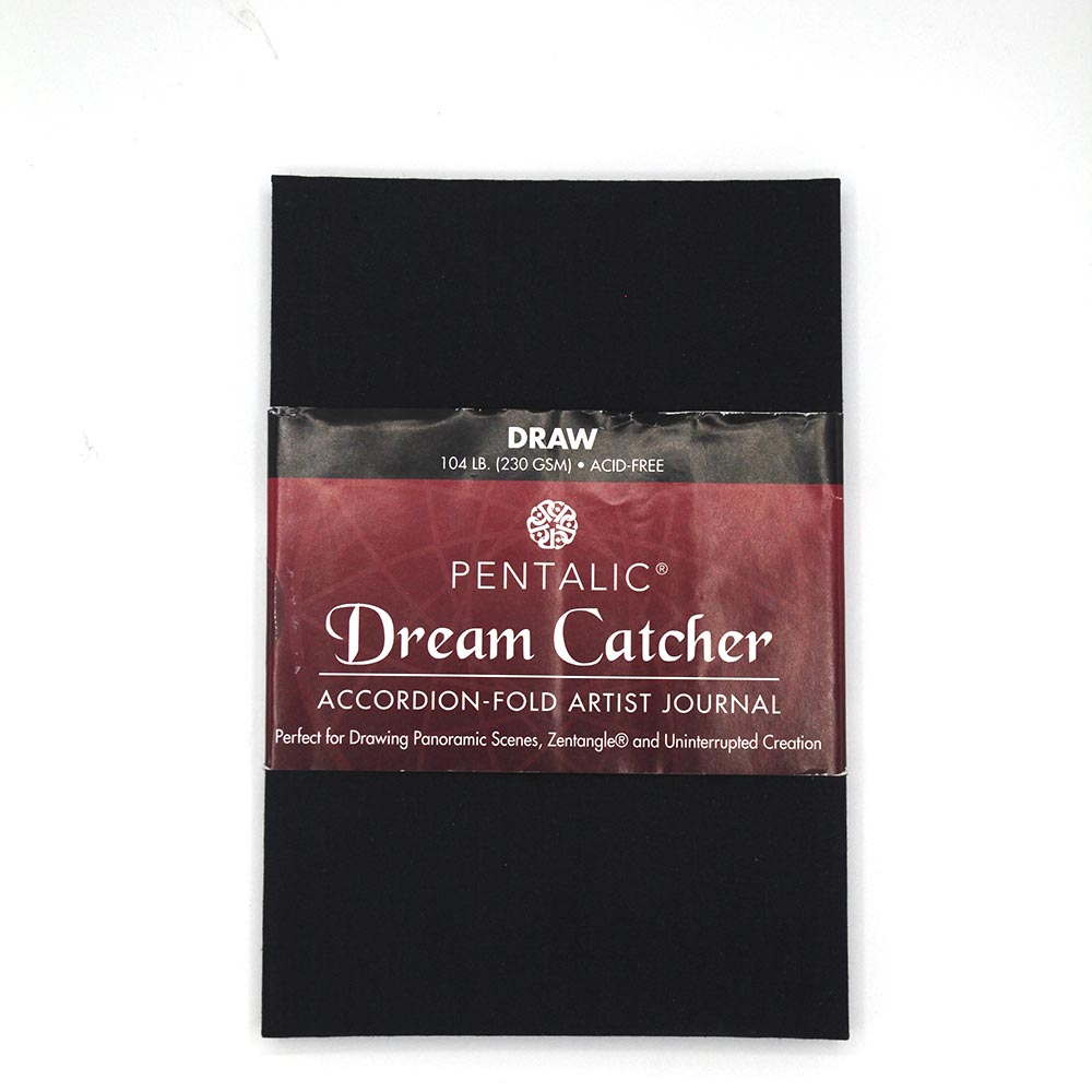 Cover Image For Pentalic Dream Catcher Accordion-Fold Journal