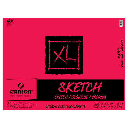 Cover Image For Sketch Pad 18in x 24in