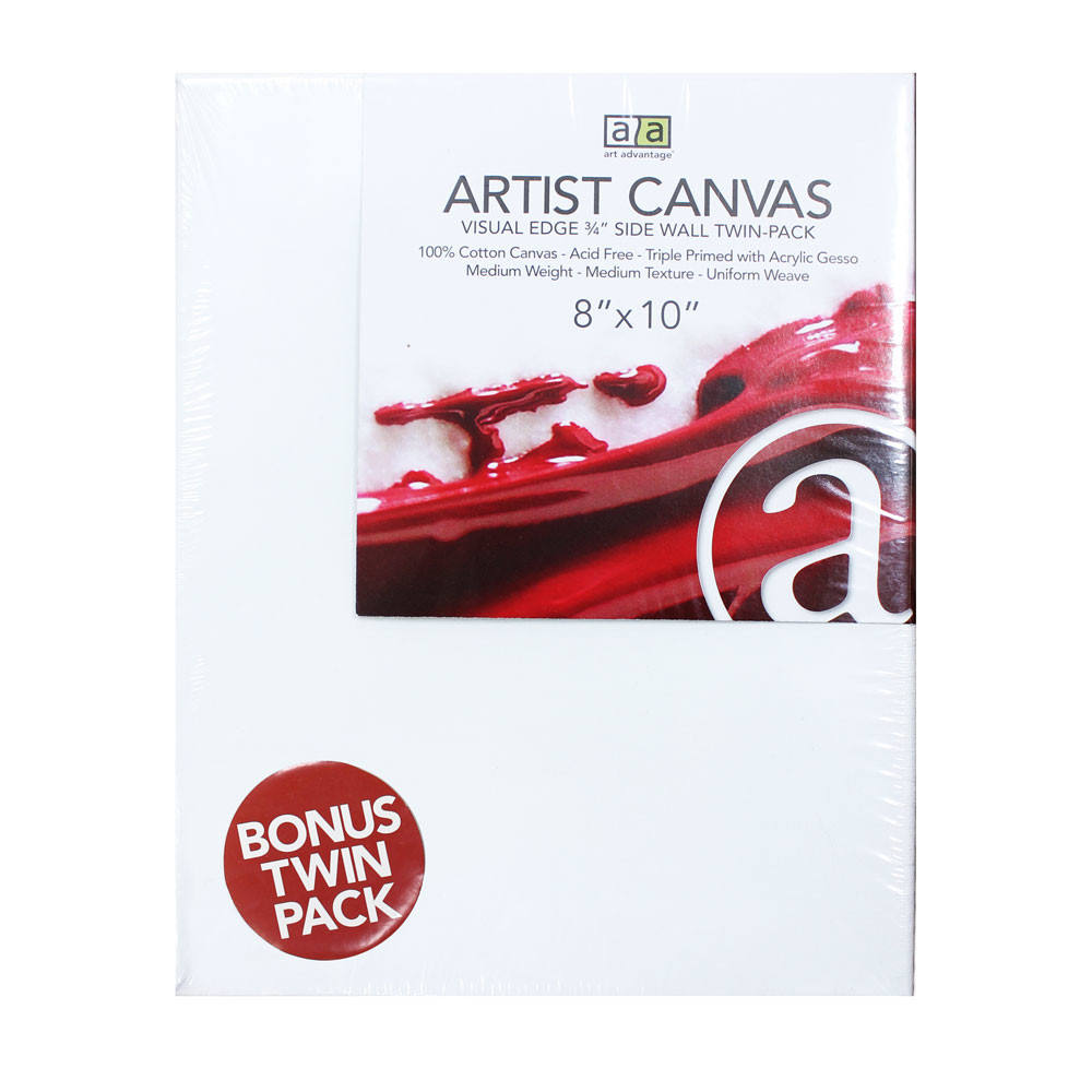 "Image For 8""x10"" Artist Canvas Twin Pack"