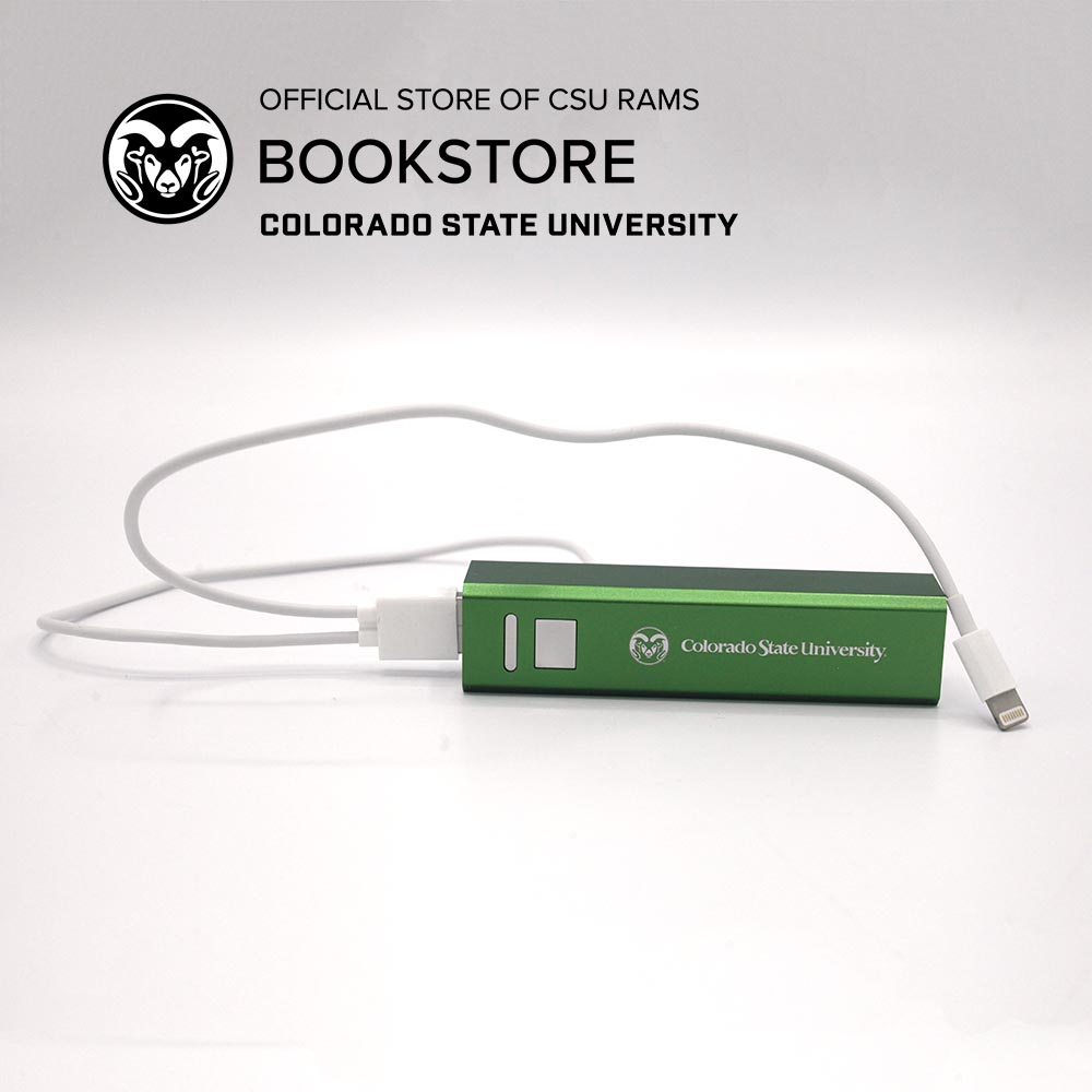 Image For CSU Green Portable Power Bank