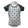 Image for CSU Rams Green/White Color Block Diaper Shirt