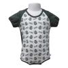 Image for CSU Rams Green/White Color Block Diaper Shirt