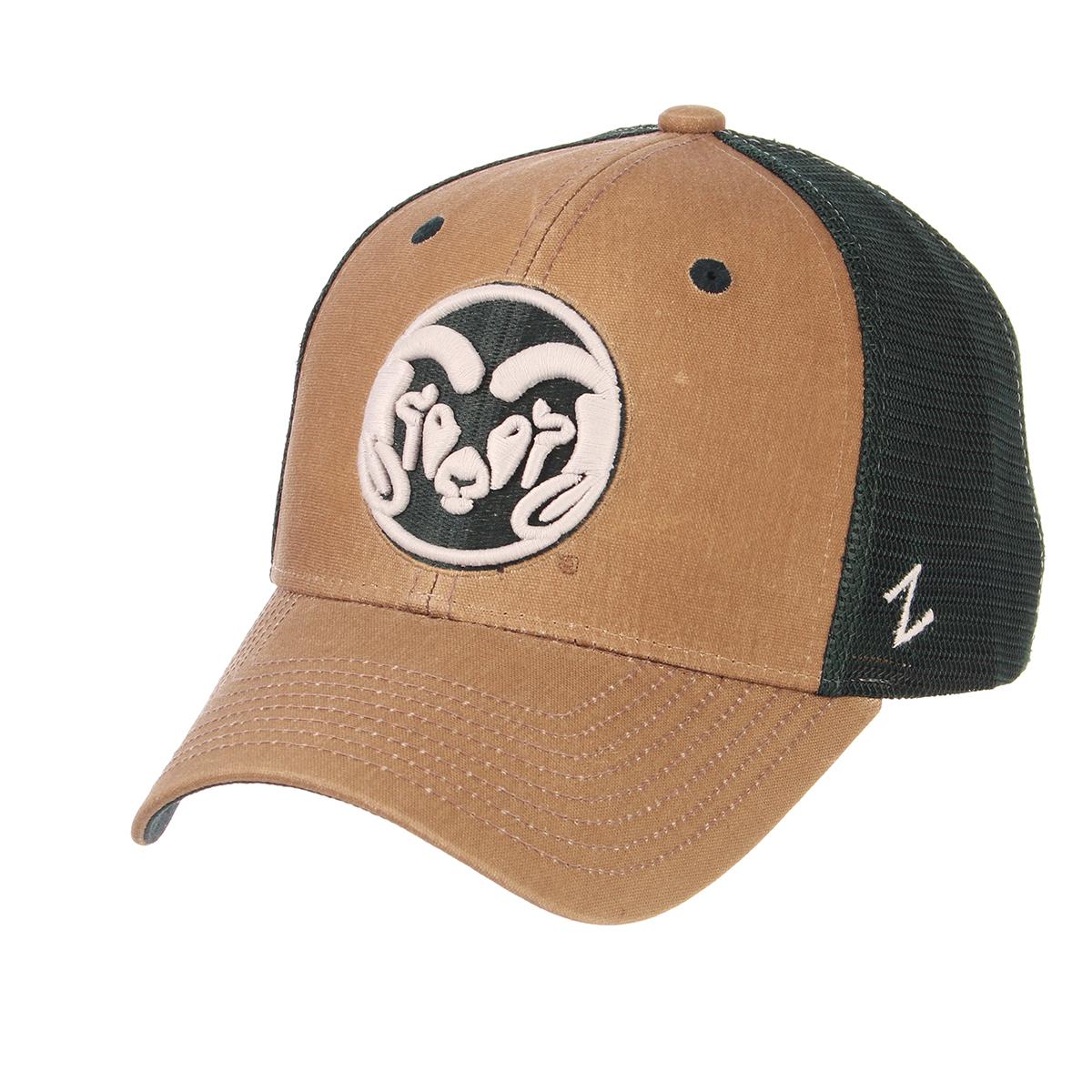 c63ed2932b870 CSU Rams Zephyr Mesh Snapback Hat