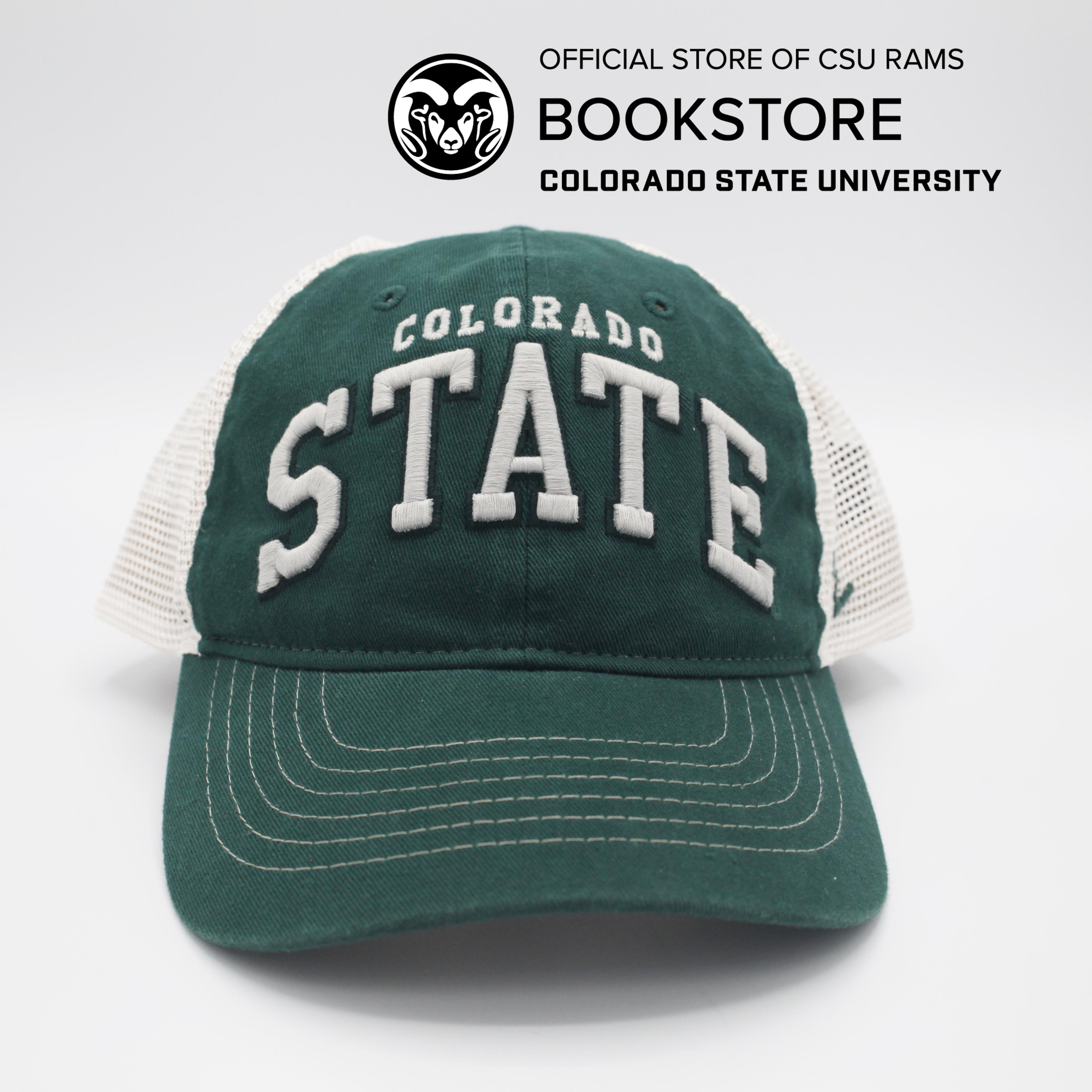 Cover Image For Green Mesh Colorado State Hat