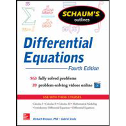 Image For Differential Equations by Schaums