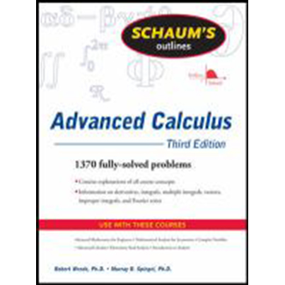 Image For Advanced Calculus by Schaums