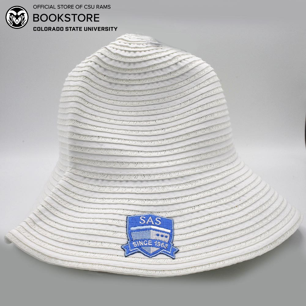 Cover Image For White Semester at Sea Logofit Crushable Sun Hat