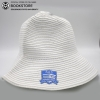 Image for White Semester at Sea Logofit Crushable Sun Hat