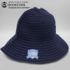 Image for Navy Blue Semester at Sea Logofit Crushable Sun Hat