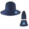 Cover Image for Navy Blue Semester at Sea Crushable Sun Hat by LogoFit