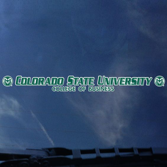 Image For CSU College of Business Window Decal