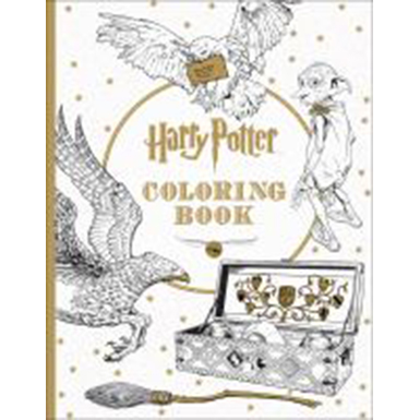 Image For Harry Potter Coloring Book by Scholastic