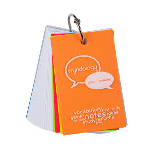 "Cover Image For Myndology Ring Bound Flashcards 4"" x 2.68"""