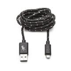 Image for On-Hand 5ft. Black Nylon Charging Cable - Micro USB