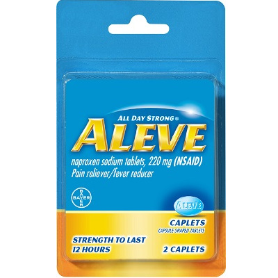 Image For Aleve Pain Reliever/Fever Reducer Caplets