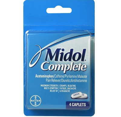 Image For Midol Complete Pain Reliever Gelcaps