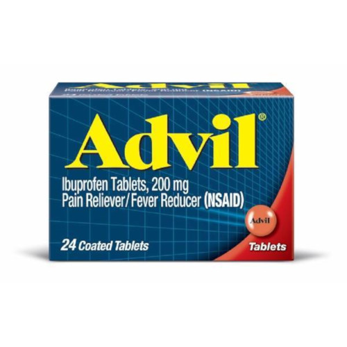 Image For Advil Ibuprofen Pain Reliever/Fever Reducer Tablets