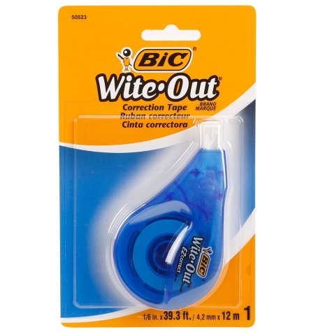 Cover Image For Bic Wite Out Correction Tape