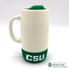 Image for White Ceramic CSU Mug