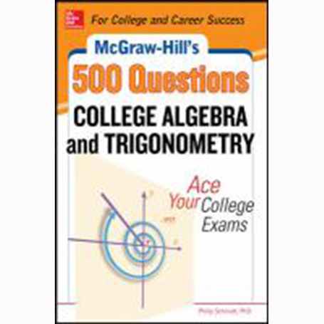 Cover Image For College Algebra by 500 Questions