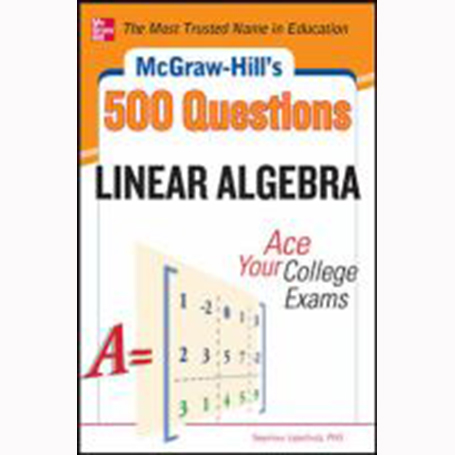 Image For College Linear Algebra by 500 Questions