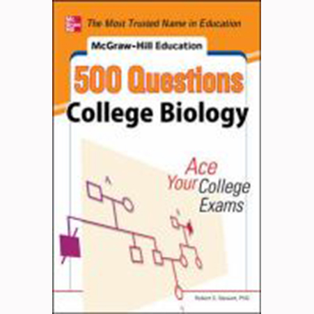 Image For College Biology by 500 Questions