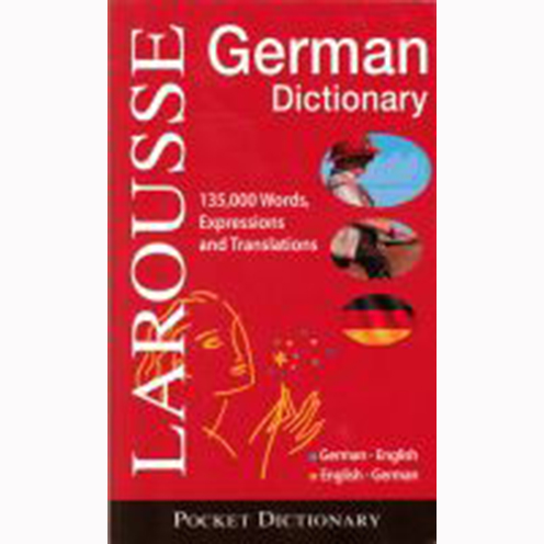 Image For German English Dictionary by Larousse