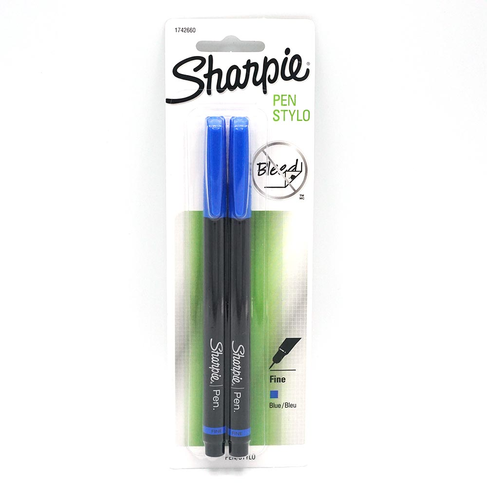 Cover Image For Blue Sharpie Pen 2 Pack