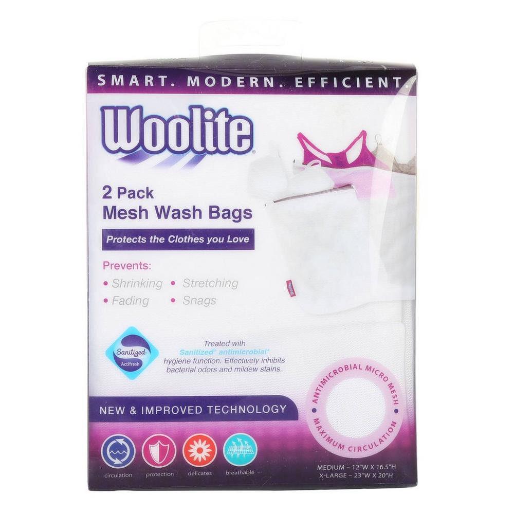 Image For Woolite 2 Pack Mesh Wash Bags