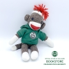 "8"" CSU Rams Sock Monkey in a Hooded Sweatshirt Image"