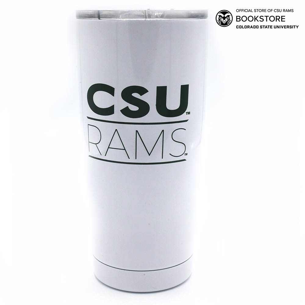 Cover Image For White CSU Infinity Tumbler