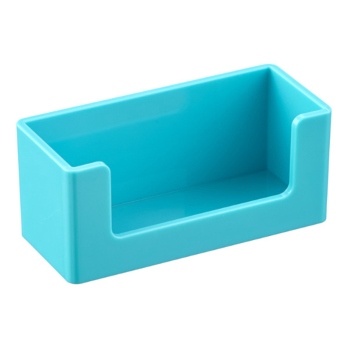 Image For Poppin Aqua Business Card Holder