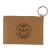 Cover Image for Black Colorado State University Leather Coin Bag