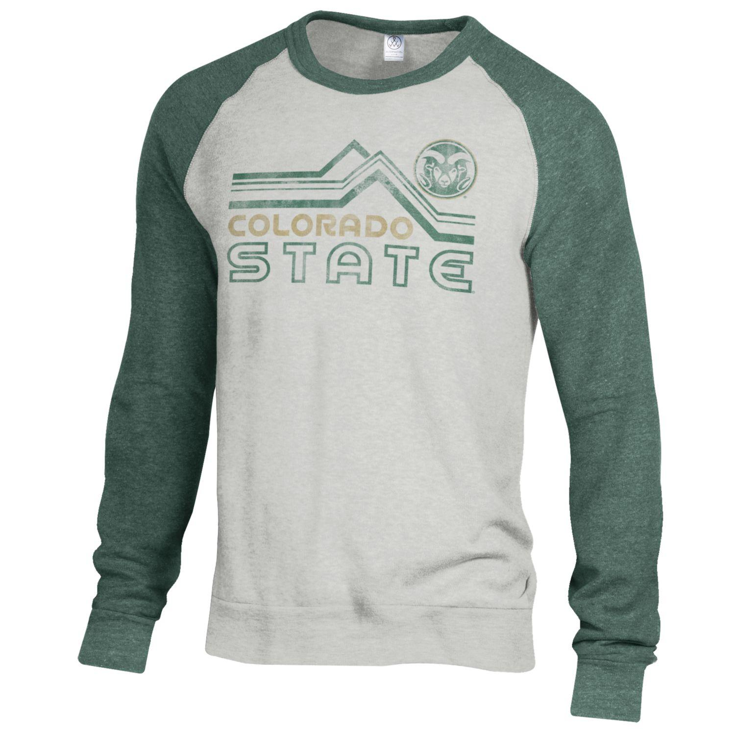 Cover Image For Colorado State Champ Color Block Crew Sweatshirt