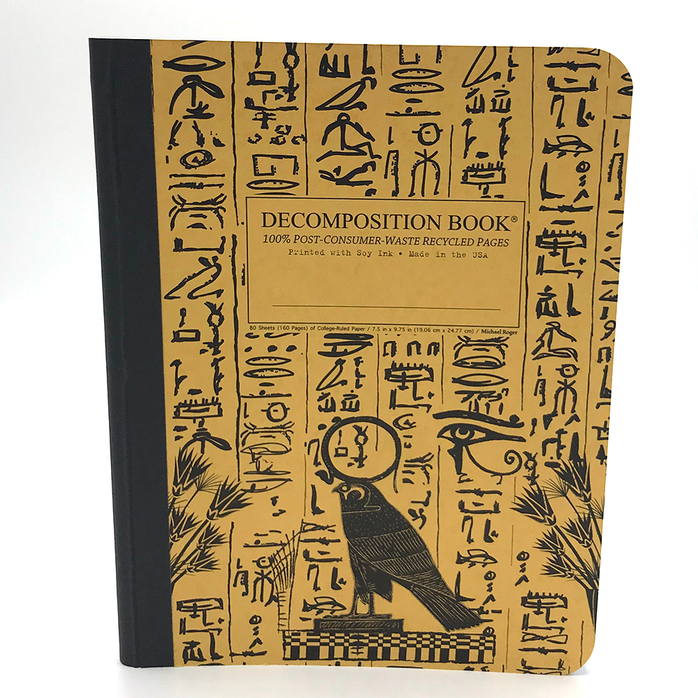 Image For Hieroglyphics Decomposition Notebook