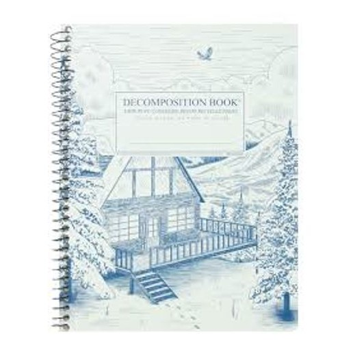 Image For Snowy Chalet Decomposition Notebook