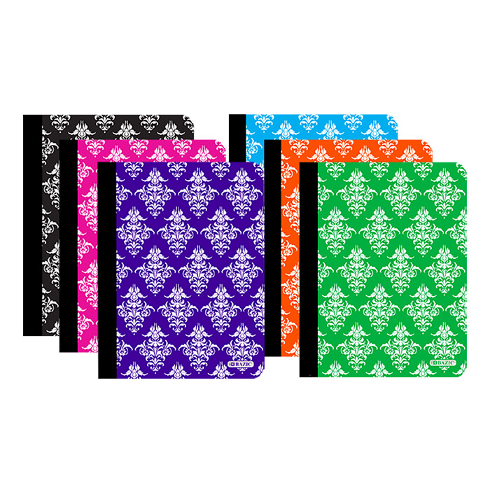 Image For Damask Composition Notebook