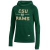Image for Green Women's Colorado State Tech Terry Pullover Hood
