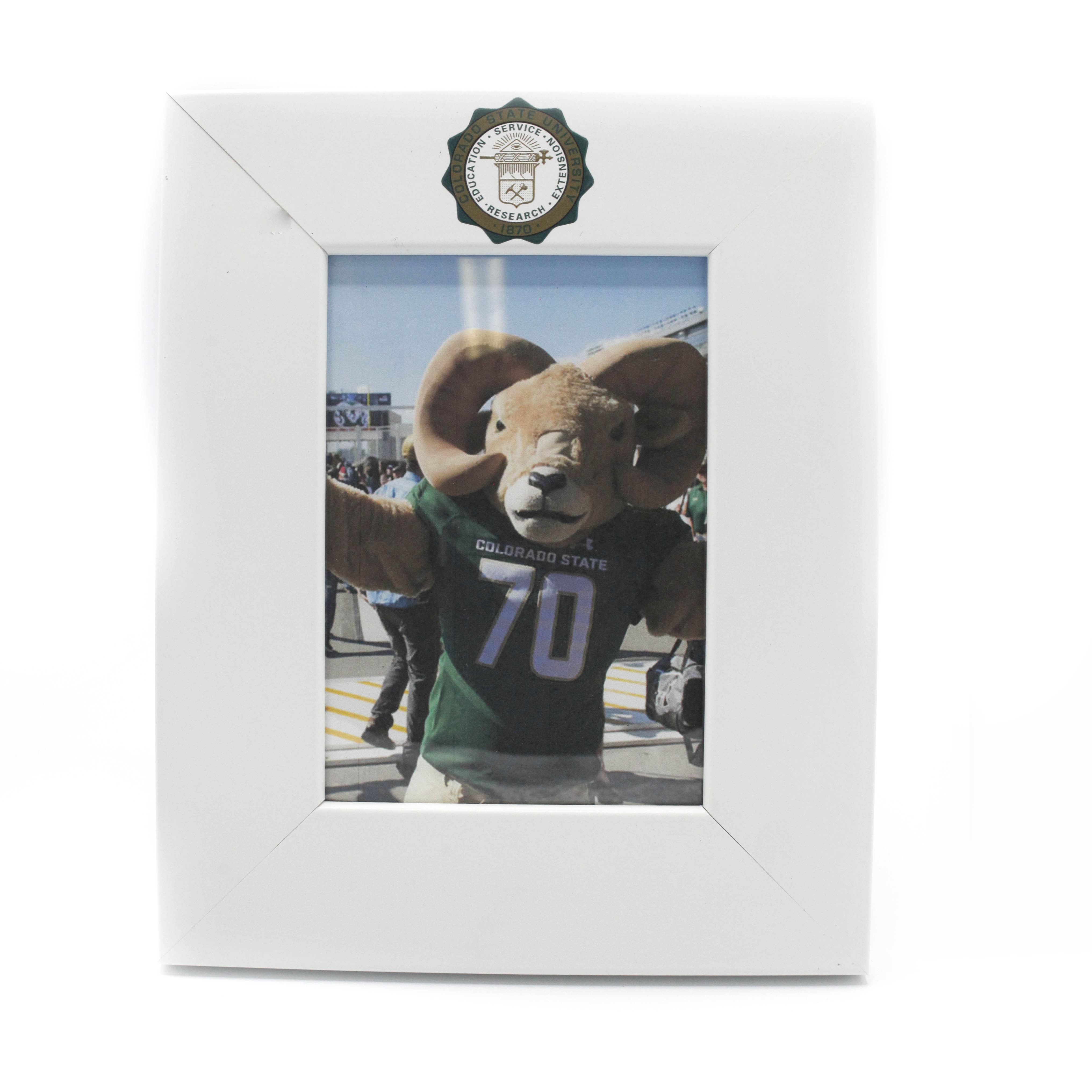 "Image For Colorado State University Vertical Picture Frame 5""x7"""