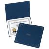 Image for Oxford Navy Blue Certificate Holder